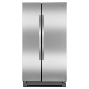 Kenmore 25.2 cu. ft. Side-by-Side Refrigerator - Stainless Steel