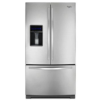 Whirpool Whirlpool 26 cu. ft. French Door Refrigerator w/ MicroEdge Shelves - Stainless Steel