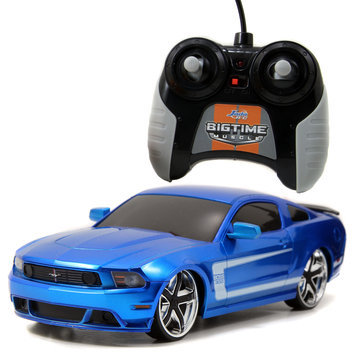 Big Time Muscle 96969 2012 Ford Mustang Boss 302 RC, Blue