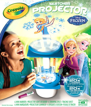 Binney & Smith Crayola Sketcher Projector - Disney Frozen