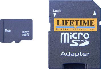 Lifetime Memory Micro-SD Micro Secure Digital Card (8GB)
