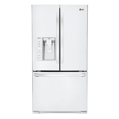 LG Electronics Refrigerator. Ice Maker. 28.8 cu. ft. French Door Refrigerator in Smooth Black with Dual s LFXS29626B