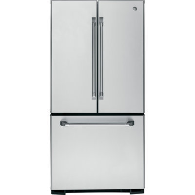 GE CNS23SSHSS Cafe 22.7 Cu. Ft. Stainless Steel French Door Refrigerator - Energy Star