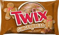 Twix Gingerbread Cookie Bars