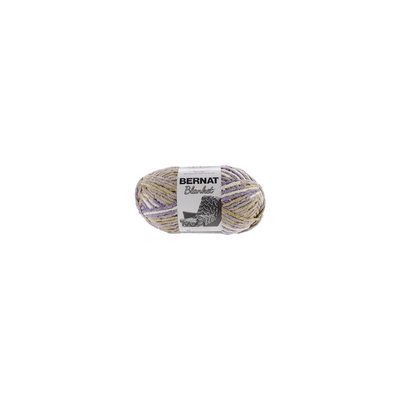 Spinrite NOTM319340 - Bernat Blanket Big Ball Lilac Bush Yarn