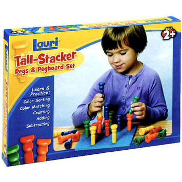 Patch Products Tall-Stacker Pegs & Pegboard Set