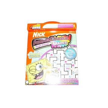 Abracadazzle SpongeBob Squarepants Mazebook And 1 Marker - GIDDY UP, LLC