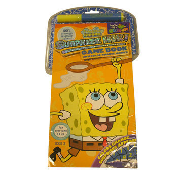 Giddy Up Llc SpongeBob Squarepants Game Book And 1 Marker