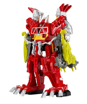 Toys 'r' Us Power Rangers Dino Charge Deluxe Megazord Action Figure