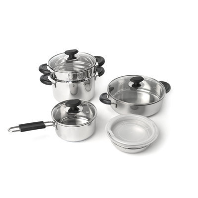 Sierra Accessories BergHOFF Kasta 9-Piece Cookware Set