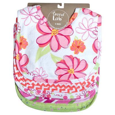 Trend Lab Hula Baby 5-Pack Bib Set
