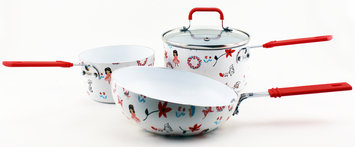 Children Line Cookware Girls Children's Line- Girls Cookware Set