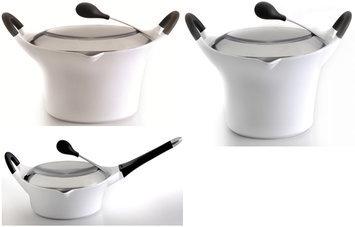 Berghoff International BergHoff Auriga White Cast Aluminum 6 Piece Cookware Set