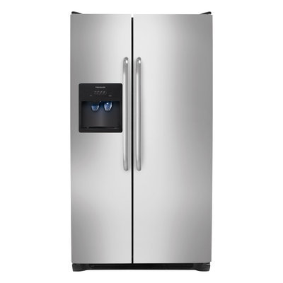 Frigidaire 26 cu. ft. Side by Side Refrigerator in Stainless Steel FFSS2614QS
