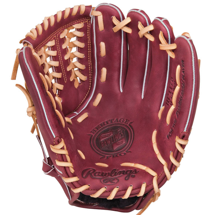 "Rawlings Sporting Goods, Co. Rawlings Heritage Pro 11.75"" Pitcher/Infield Glove LH"