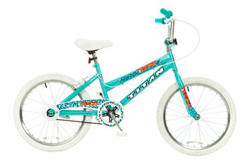 Taiwan New Idea Service Enter. Titan #20141-91 Tomcat Girls BMX Bike with Pads, Teal Blue, 20-Inch Wheel