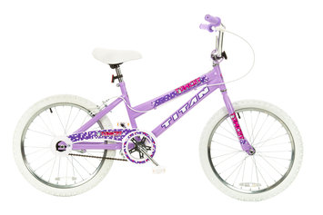 Taiwan New Idea Service Enter. Titan #20141-89 Tomcat Girls BMX Bike with Pads, Lavender, 20-Inch Wheel