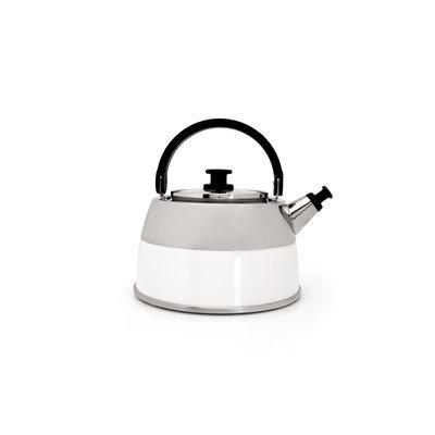 Berghoff International BergHOFF Virgo 2.6-qt. Whistling Teakettle (White)