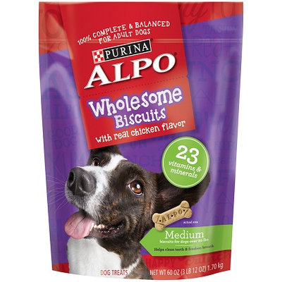ALPO® Wholesome Biscuits With Real Chicken Flavor Medium Dog Treats