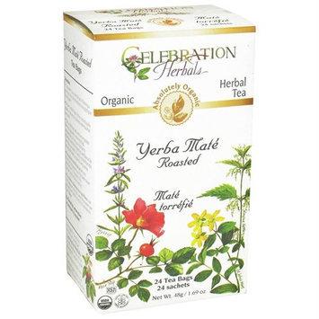 Celebration Herbals - Organic Yerba Mate Roasted Herbal Tea - 24 Tea Bags