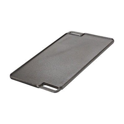 Basic Essentials Cast Iron Reversible Grill and Griddle Pan - TABLETOPS UNLIMITED, INC.