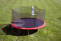 Propel Trampolines 15' Enclosed Trampoline with Anchor Kit - HARVEST TIME CHURCH