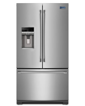 Maytag MFT2776DEM 27.0 Cu. Ft. Stainless Steel French Door Refrigerator