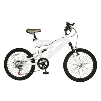 Cycle Source Group, Llc Cycle Force Group Cycle Force 20 inch Dual Suspension Bike, White
