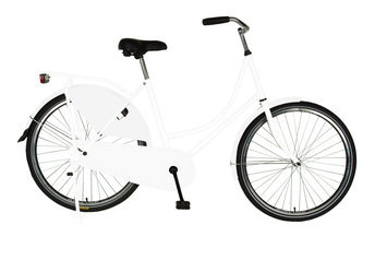 Cycle Source Group, Llc Cycle Force Group Cycle Force 26 inch Dutch Style Bike, White