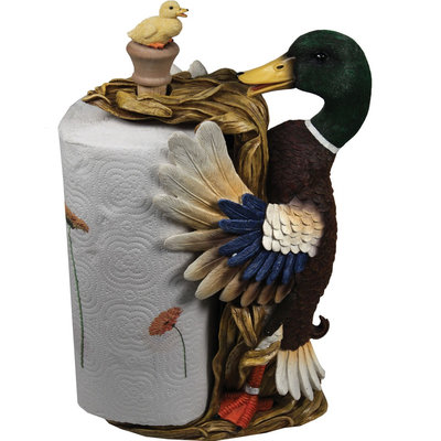Rivers Edge Products Duck Paper Towel Holder