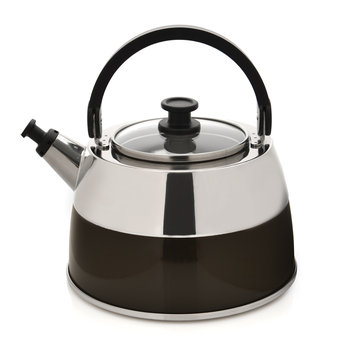 Berghoff International BergHOFF 3-qt. Stainless Steel Whistling Tea Kettle (Brown)