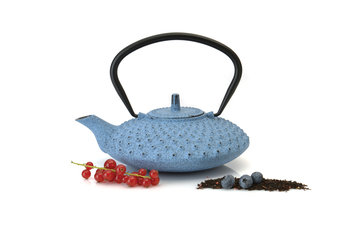 Sierra Accessories Studio Cast Iron Teapot 0.84 qts Blue