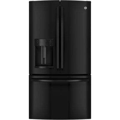 GE GFE26GGHBB 25.7 Cu. Ft. Black French Door Refrigerator - Energy Star