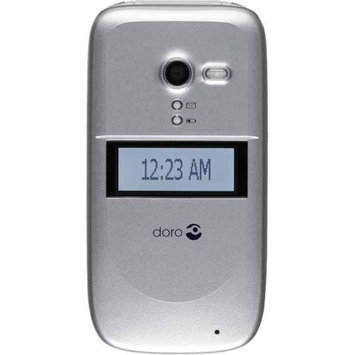 Consumer Cellular Doro PhoneEasy 626 Silver - CAM CONSUMER PRODUCTS, INC