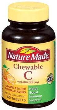 Pharmavite Vitamin C Chewables Orange Flavor 75 Ct.