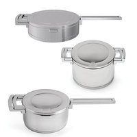 Berghoff International BergHoff Neo Stainless Steel Cookware, 6 Piece Set
