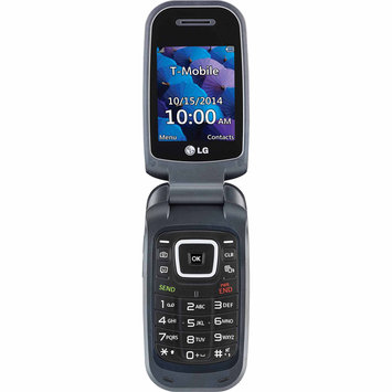 T-mobile Prepaid - Lg 450 No-contract Cell Phone - Indigo Black