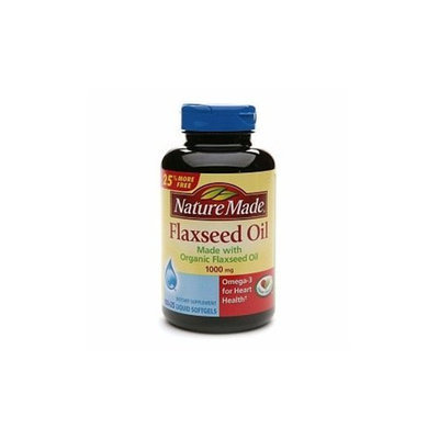 Nature Made Flaxseed Oil 1000 mg, 125 ct