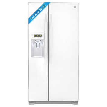 Kenmore 22 cu. ft. Capacity Side-by-Side Refrigerator w/ Dispenser