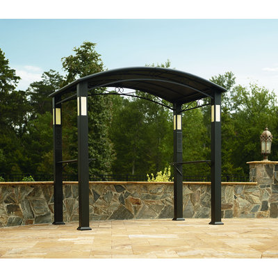 BBQ Pro Grill Gazebo with Integrated Post Speakers and Lights - YEH HUNG PLASTIC CO, LTD.