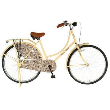 Hollandia City Leopard Bike Ivory 19