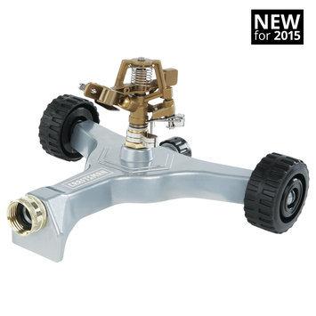 Craftsman Metal Pulsating Sprinkler with Wheeled Base - HUNTER-MELNOR