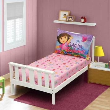 Nickelodeon Dora the Explorer Toddler Girl's 3 Piece Sheet Set - STEVENS BABY BOOM LTD.