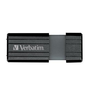 Verbatim 8GB Store 'n' Go PinStripe USB Drive - Black