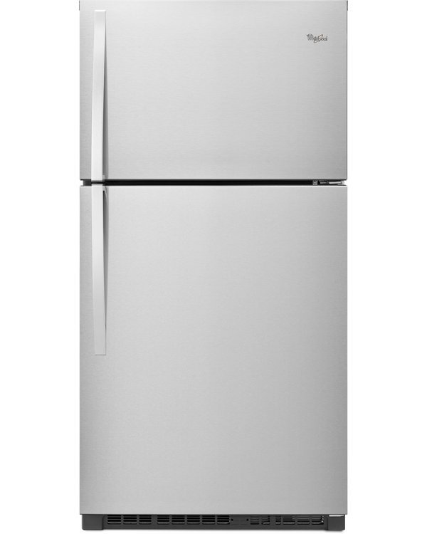 Whirlpool WRT541SZDM 21.3 Cu. Ft. Stainless Steel Counter Depth Top Freezer Refrigerator - Energy Star