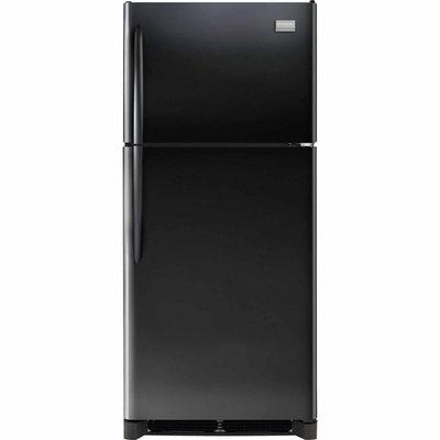 Frigidaire Gallery 20.4 Cu. Ft. Top Freezer Refrigerator - Smooth Black