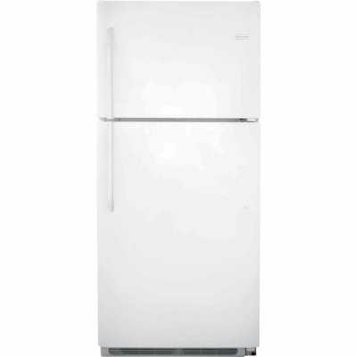 Frigidaire 20.5 Cu. Ft. Top Freezer Refrigerator - Pearl White
