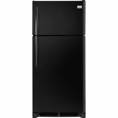 Frigidaire 18 cu. ft. Top Freezer Refrigerator - Black