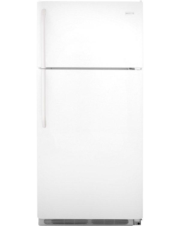 Frigidaire Refrigerator. 18 cu. ft. Top Freezer Refrigerator in White FFHT1814QW