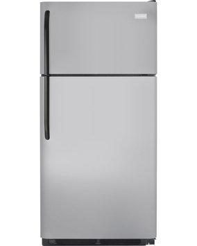 Frigidaire Refrigerator. 18 cu. ft. Top Freezer Refrigerator in Silver Mist FFTR1821QM
